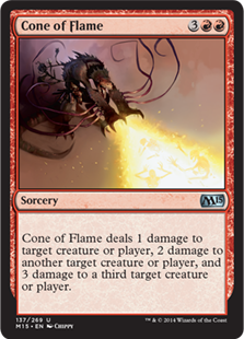 Cone of Flame (Foil)