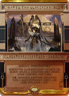 Bontu the Glorified - Amonkhet Invocation