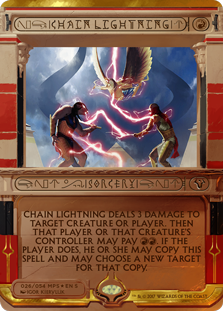 Chain Lightning - Amonkhet Invocation