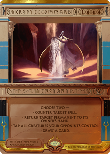 Cryptic Command - Amonkhet Invocation