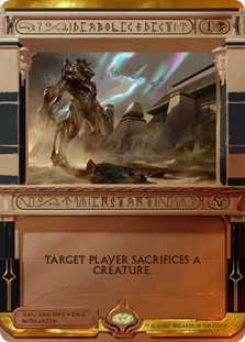 Diabolic Edict - Amonkhet Invocation