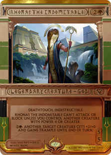 Rhonas the Indomitable - Amonkhet Invocation