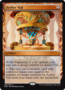Aether Vial - Kaladesh Invention