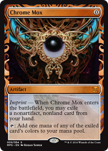 Chrome Mox - Kaladesh Invention