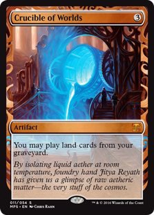 Crucible of Worlds - Kaladesh Invention