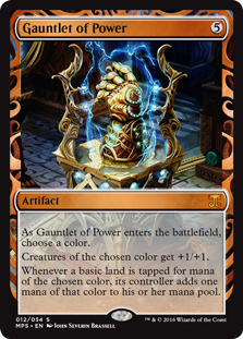 Gauntlet of Power - Kaladesh Invention