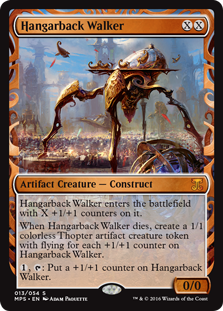 Hangarback Walker - Kaladesh Invention
