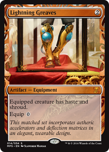 Lightning Greaves - Kaladesh Invention