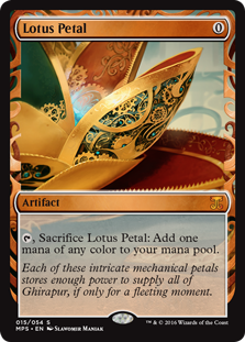 Lotus Petal - Kaladesh Invention