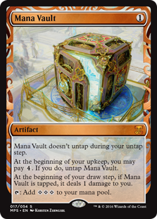 Mana Vault - Kaladesh Invention