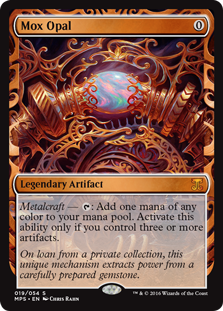 Mox Opal - Kaladesh Invention