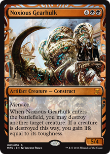 Noxious Gearhulk - Kaladesh Invention