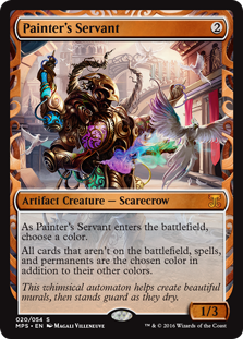 Painter's Servant - Kaladesh Invention