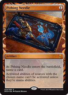Pithing Needle - Kaladesh Invention