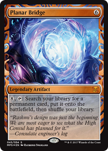 Planar Bridge - Kaladesh Invention