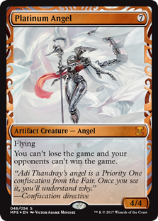 Platinum Angel - Kaladesh Invention