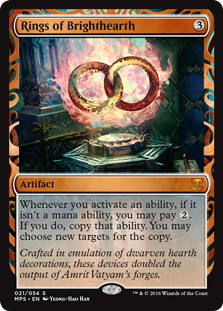 Rings of Brighthearth - Kaladesh Invention
