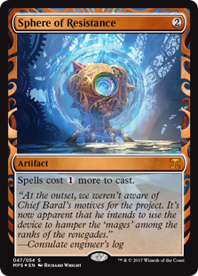 Sphere of Resistance - Kaladesh Invention