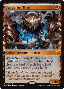 Sundering Titan - Kaladesh Invention
