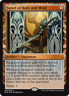 Sword of Body and Mind - Kaladesh Invention