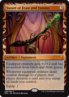 Sword of Feast and Famine - Kaladesh Invention