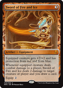 Sword of Fire and Ice - Kaladesh Invention