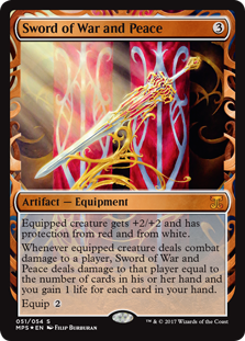 Sword of War and Peace - Kaladesh Invention
