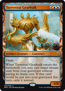 Torrential Gearhulk - Kaladesh Invention
