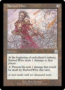 Barbed Wire (Foil)