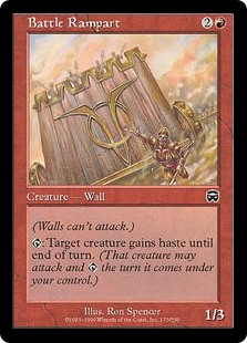 Battle Rampart (Foil)