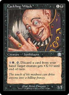 Cackling Witch (Foil)