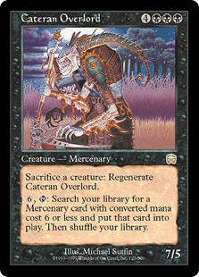 Cateran Overlord (Foil)