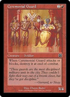 Ceremonial Guard (Foil)