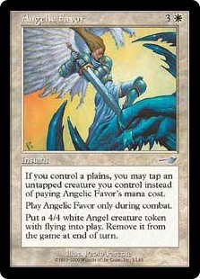 Angelic Favor (Foil)