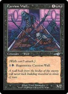 Carrion Wall (Foil)