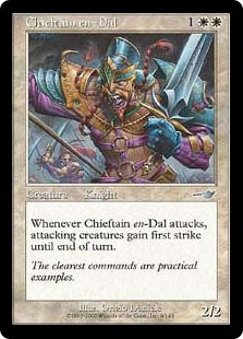 Chieftain en-Dal (Foil)