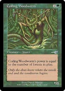 Coiling Woodworm (Foil)