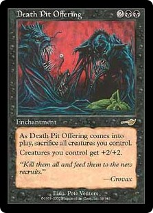Death Pit Offering (Foil)