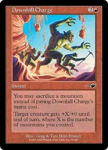 Downhill Charge (Foil)