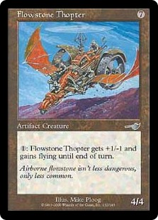 Flowstone Thopter (Foil)