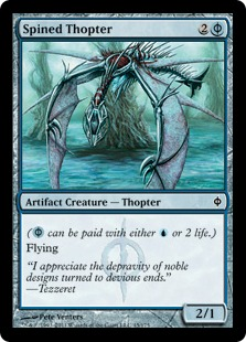 Spined Thopter
