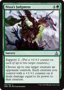 Nissa's Judgment