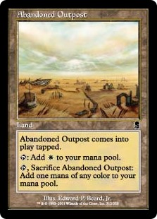 Abandoned Outpost (Foil)