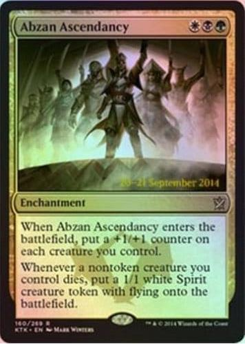 Abzan Ascendancy - Khans of Tarkir Prerelease Promo