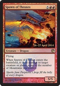 Spawn of Thraxes - Journey into Nyx Prerelease Promo