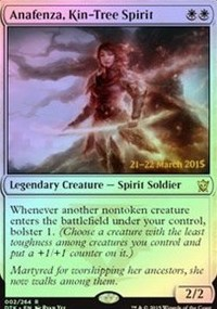 Anafenza, Kin-Tree Spirit - Dragons of Tarkir Prerelease Promo
