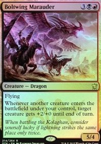Boltwing Marauder - Dragons of Tarkir Prerelease Promo