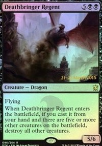 Deathbringer Regent - Dragons of Tarkir Prerelease Promo