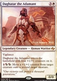 Daghatar the Adamant - Fate Reforged Prerelease Promo