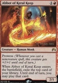 Abbot of Keral Keep - Origins Prerelease Promo